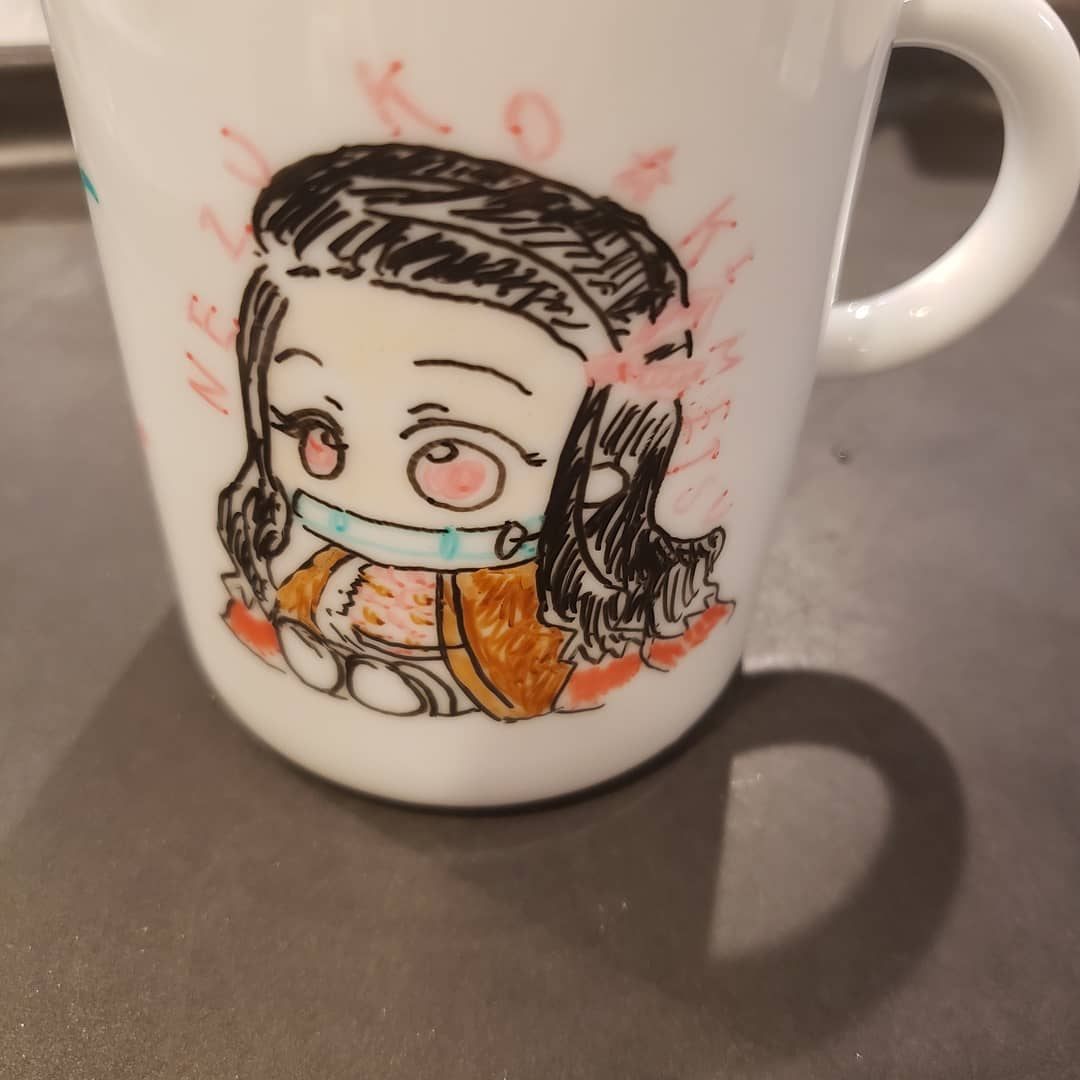 自作デザインマグカップ